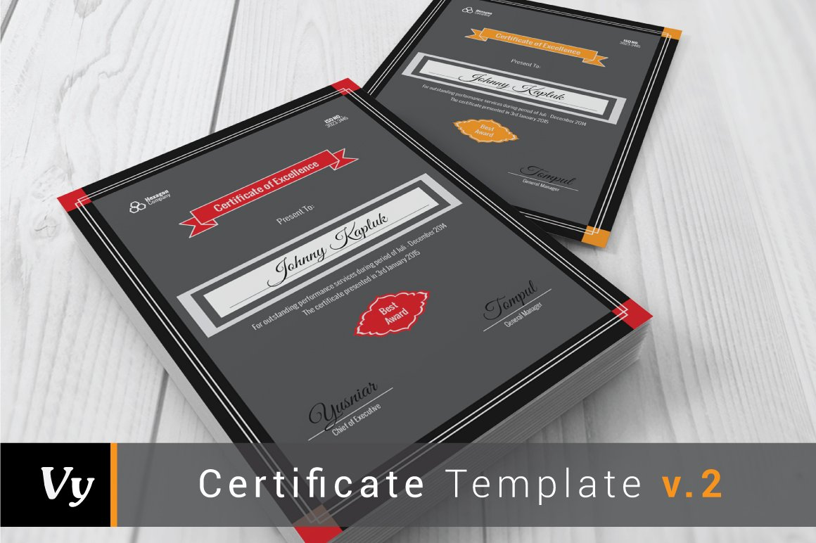 Portrait certificate template stationery templates creative market yelopaper Image collections