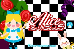 Digital Clipart In The Wonderland