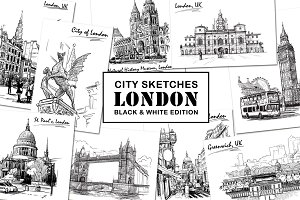 Sketching London - Ink Edition