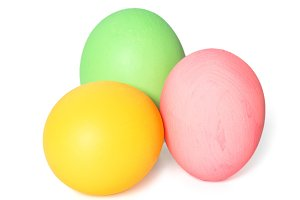 Easter eggs decoration isolated JPG