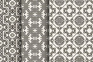Pattern. Chinese art