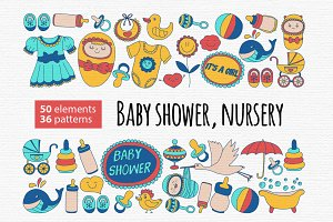 Baby shower, Nursery