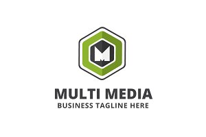 Multi Media Logo Template