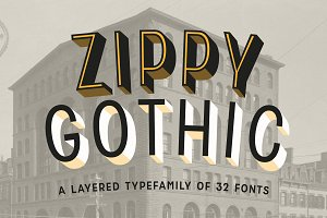Zippy Gothic - A Huge Layered Family
