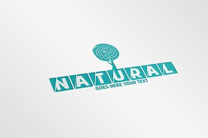 Abstract Natural Logo Template