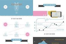 vector infographics set