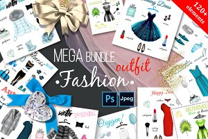 Mega Bundle. Fashion big set