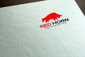 Horn Logo Template
