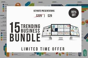 Trending Business Keynote Bundle