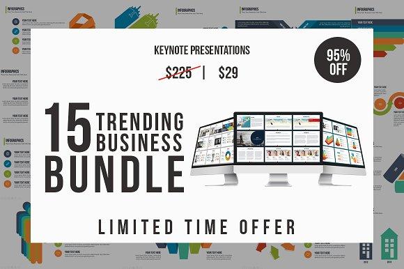 Trending Business Keynote Bundle in Keynote Templates