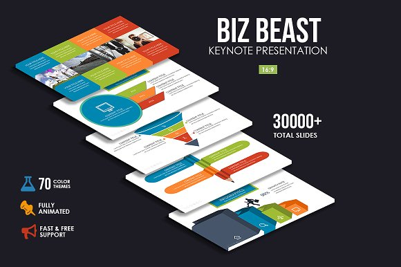 Trending Business Keynote Bundle in Keynote Templates - product preview 3