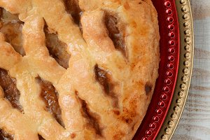Apple Pie Closeup