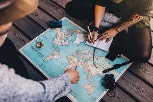 Tourist Planning vacation