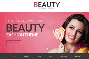 Beauty – Fashion Bootstrap Theme