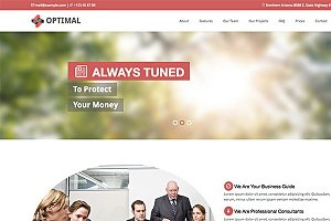 Optimal – Premium Theme For Business