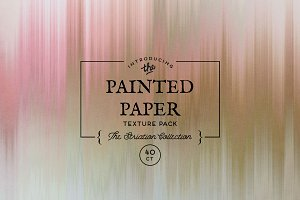 Painted Paper Textures Striation