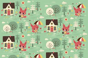 cute vector pattern