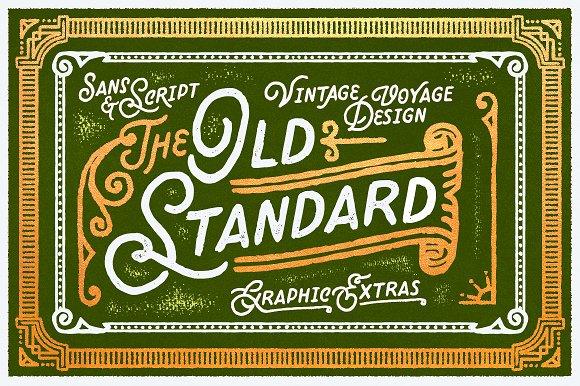 Old Standard Promo Sale $7