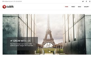 Cubik – Business Blog Theme