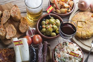 Tapas (typical spanish food)