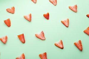 Background Strawberry