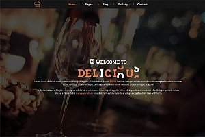 Delicious – Restaurant & Cafe theme