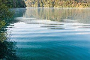 Beautiful Plitvice lake