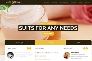 Health&Beauty – SPA Salon Theme