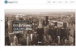 SuperStar – Corporate Theme