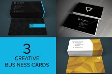 3 Creative Business Cards