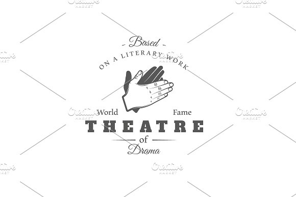 9 Theatre logos templates Vol.2 in Logo Templates - product preview 7