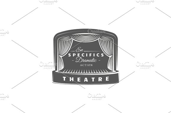 9 Theatre logos templates Vol.2 in Logo Templates - product preview 8