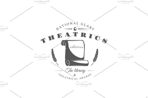 9 Theatre logos templates Vol.2 in Logo Templates - product preview 10