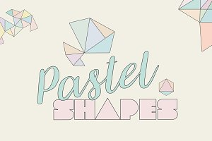 Pastel Triangle Shape Designs