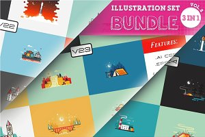 40% OFF Illustration Bundle