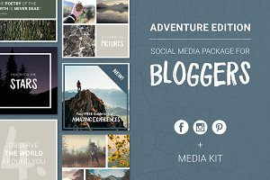 Social Media Package - Adventure