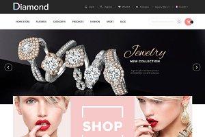 Diamond Store Magento1 & 2 Theme