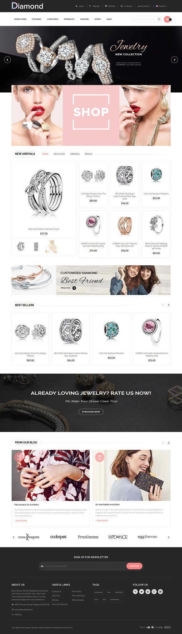 Diamond Store Magento1 2 Theme