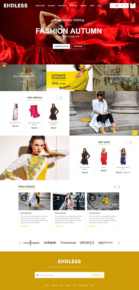 Fashion Magento 1 2 Theme