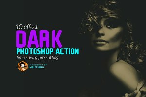 Dark  Photoshop Action