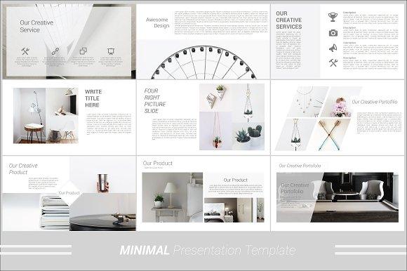 Minimal powerpoint template presentation templates creative market toneelgroepblik Gallery