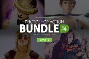 Photoshop Action Bundle #4