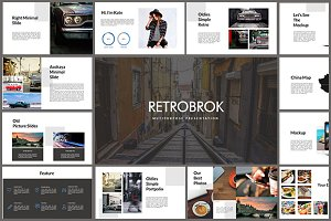 Retrobrok Powerpoint Template