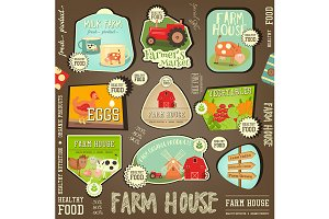 Farm Labels Collection