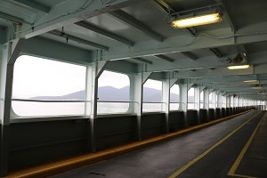 Empty Ferry Boat
