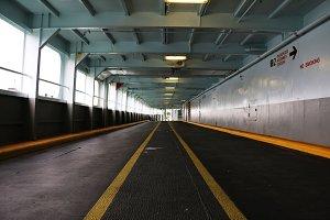 Ferry Boat Empty