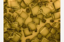 Glass gold background.