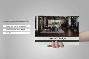 Interior Lanscape Catalog/Brochure