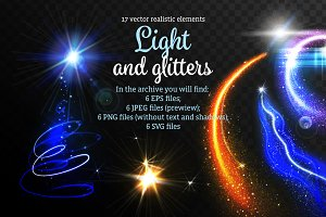 Lights and Glitters Realistic