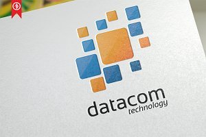 Network / Datacom - Logo Template